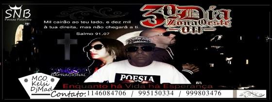"""""""3° Dia Zona Oeste"""" lança clipe com participação de rapper mexicano Chino 818"""