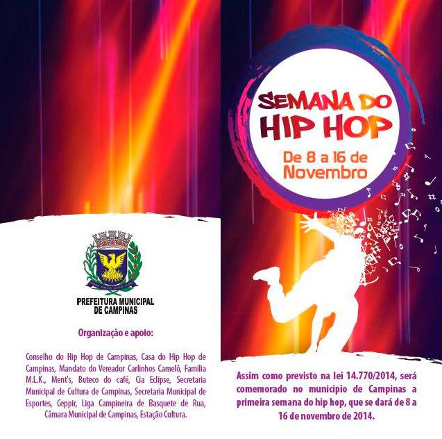 Campinas terá a semana do Hip Hop com grandes nomes regionais e nacionais