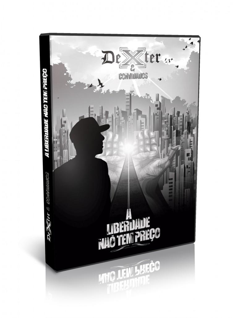 """Confira a capa e tracklist de """"A Liberdade Não Tem Preço"""", o novo DVD do Dexter"""