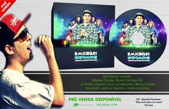 Emicieres Hupomone inicia pré-venda do seu CD