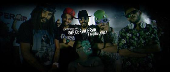 "ConeCrewDiretoria lança videoclipe chapado ""Rap Cerva Erva & Muita Larica"""