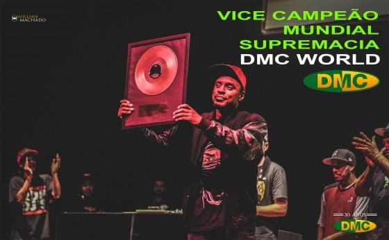DJ Erick Jay é vice-campeão mundial do DMC Battle For World Supremacy 2015