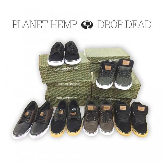 Dropdead lança coleção de tênis do Planet Hemp