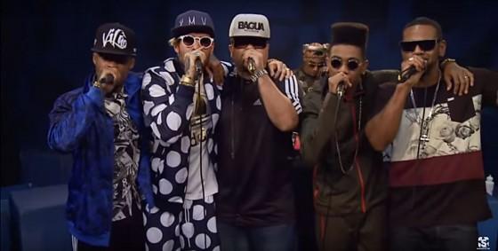 Família MV entra para o acervo do Showlivre com participação de Edi Rock, Don Pixote e Lino Krizz