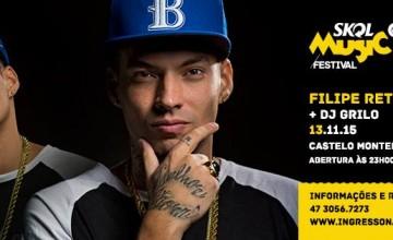 Filipe RET faz show em Itajaí, SC na próxima sexta-feira (13)