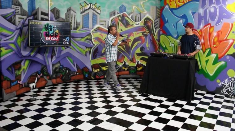 """Programa de TV de Goiás, """"Hip Hop em Cena"""" da início à segunda temporada"""