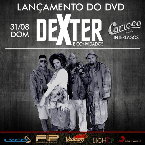 Ao Cubo se apresenta no show Transconexão e lançamento do DVD Dexter, neste fim de semana