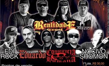 Realidade Cruel marca lançamento do novo álbum no festival Gangsta Paradise 11