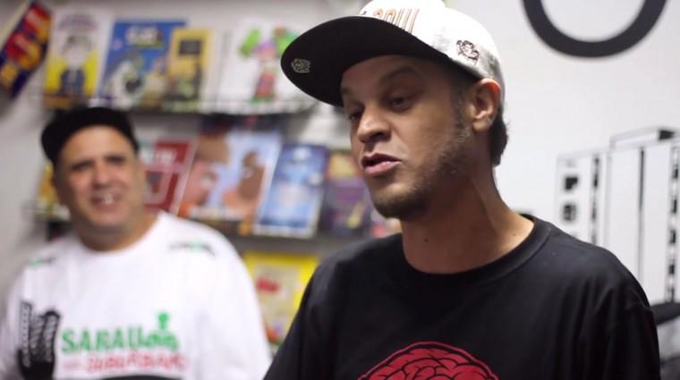 Confira como foi o lançamento do livro do Gaspar no Sarau Suburbano e assista o novo videoclipe do rapper Z'africano.