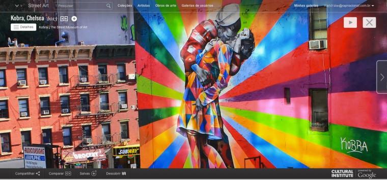 Google Street Art Project reúne mais de 5.000 grafites do mundo todo