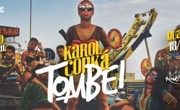 """Karol Conka lançará videoclipe de """"Tombei"""" na próxima quarta (18). Assista o teaser!"""