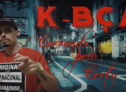 """Conheça o RAP pesado de K-BÇA com o novo single """"Correndo Pelo Certo"""""""