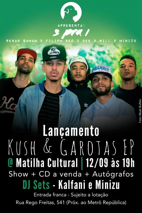 5pra1 lança EP no Matilha Cultural
