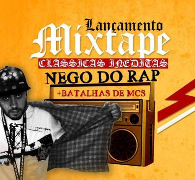 "Catarinense é o primeiro a lançar mixtape em formato ""Pen Drive"" no Rap Brasileiro"