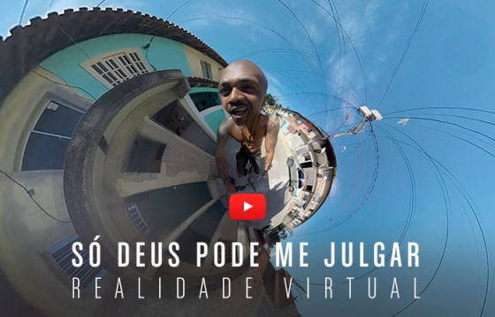 Mv Bill inova lançando primeiro videoclipe em versões 360° e Realidade Aumentada