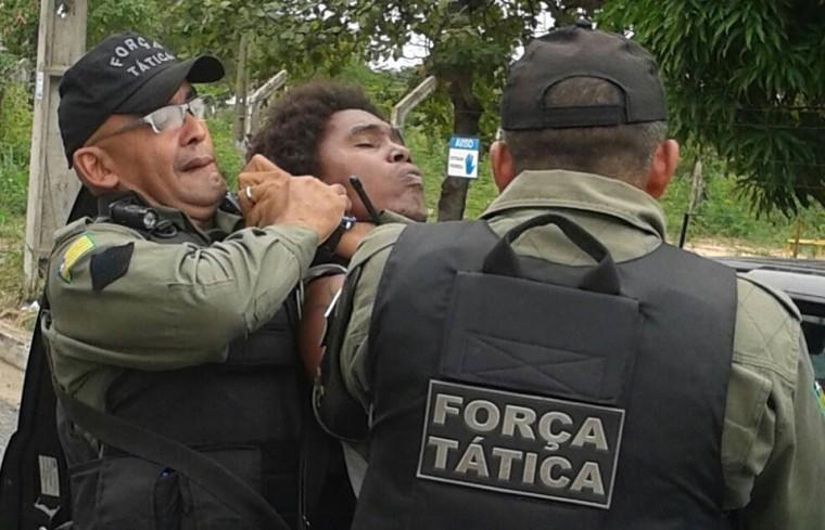 Rappers são detidos pela PM na zona Sul de Teresina