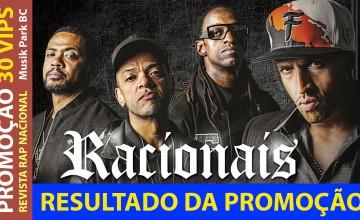 Resultado da promoção Racionais no Music Park Balneário Camboriú