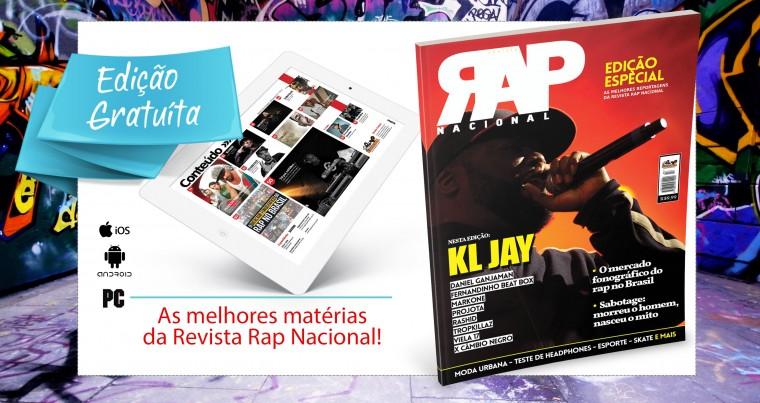 Revista Rap Nacional lança edição especial com as melhores matérias