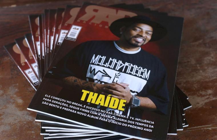 Com Thaíde na capa, Revista RAP Nacional chega nas ruas com novo projeto gráfico e editorial
