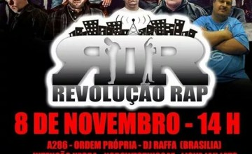 Programa Revolução Rap comemora 14 anos com grande festa em Heliópolis, SP