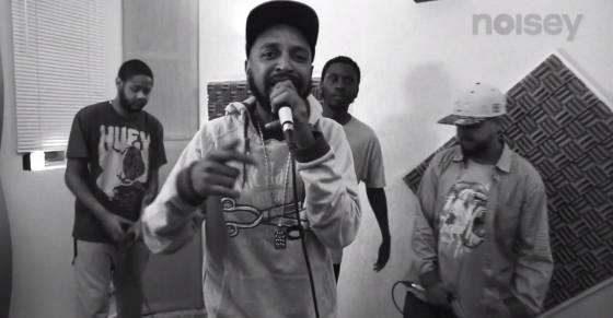 "Noisey apresenta Dj KL Jay e 4 MCs na ""Roda de Rimas"""