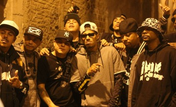 RZO grava videoclipe com Bone Thugs-N-Harmony na Favela do Paquetá, em São Paulo