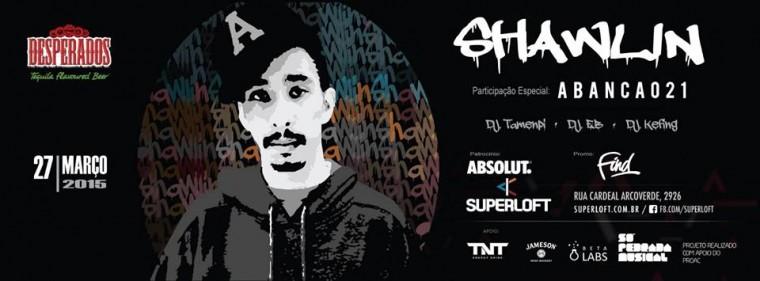 Shawlin faz show em novo projeto da Superloft em São Paulo