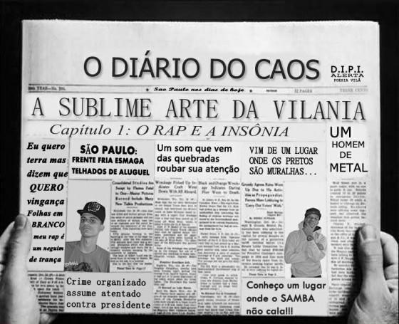 """D.I.P.I lança EP """"A Sublime Arte da Vilania"""" – Cap.1 O Rap e a Insônia"""