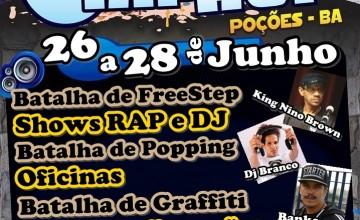 VI Encontro Regional de HipHop, em Poções-BA