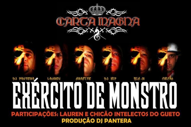 """Exército de Monstro"" é a nova música do Carta Magna"