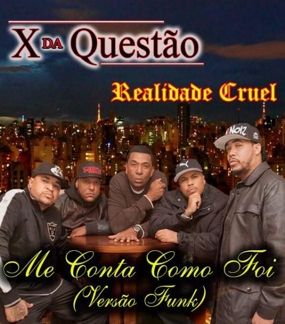 X da Questão e Douglas do Realidade Cruel misturam RAP com funk em novo single